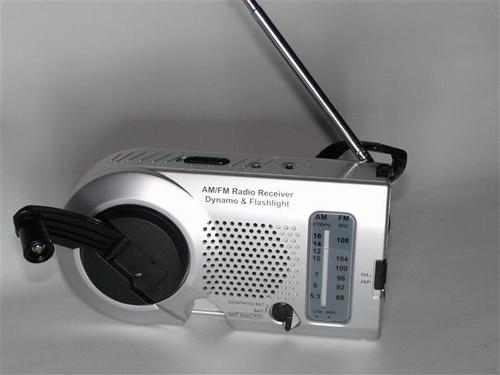 Opwindbare radio energiezuinig