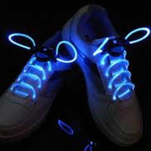 Lichtgevende schoenveters