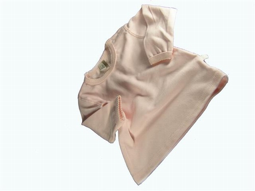 Baby t shirt licht roze