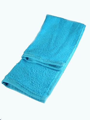 Handdoekje blauw