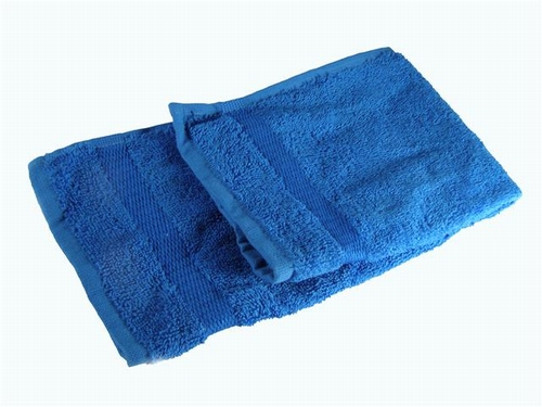 Handdoekje  kobald blauw