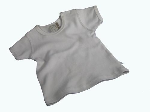 T-shirtje wit met korte mouw
