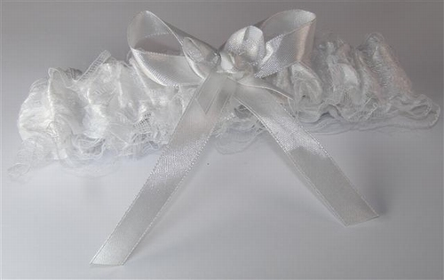 Huwelijk kousenband