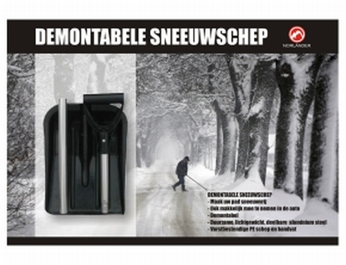 Demontabele sneeuwschep
