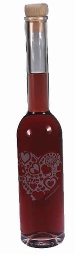 Wijnfles love