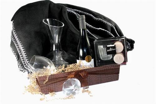 Briljant wijngeschenk