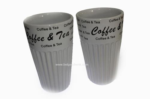 Koffie en thee mokkenset