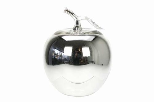 appel zilver klein van glas