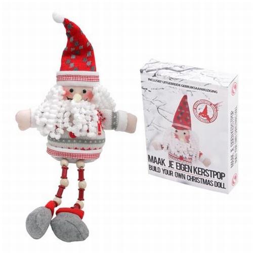 Maak je eigen Kerstpop knutselset