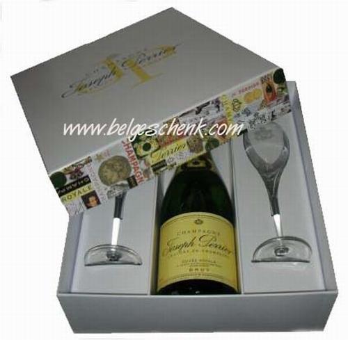Champagne Joseph Pierre cadeaudoos