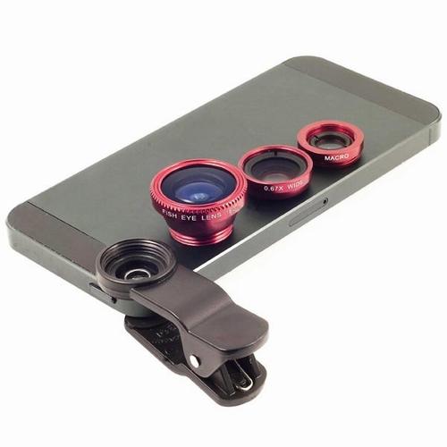 3 in 1 lens voor GSM of Smartphone
