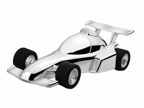 Spaarpot Raceauto Zilverstad