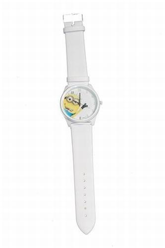 Minion Horloge Wit