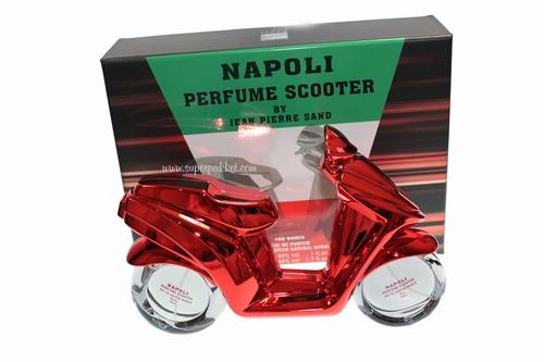 Eau de Parfum Napoli Scooter RED For Woman