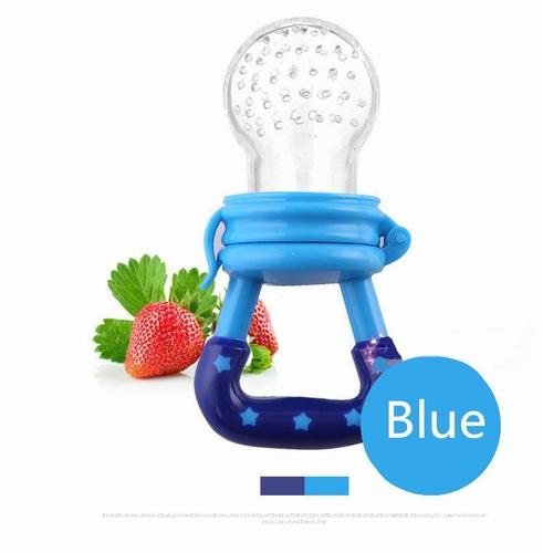 Baby speen voor fruit blauw