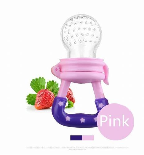 Baby speen voor fruit roze