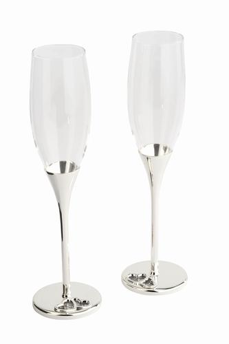 Champagne glazen set
