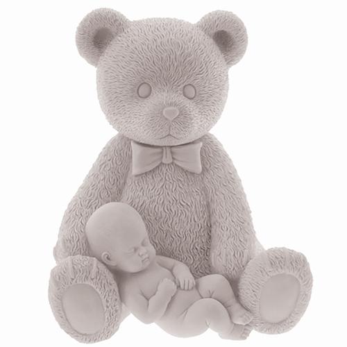 Beeldje beer met baby