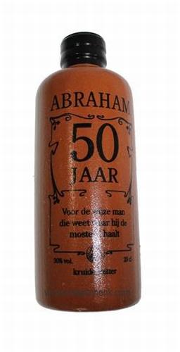Kruikje Abraham kruidenbitter