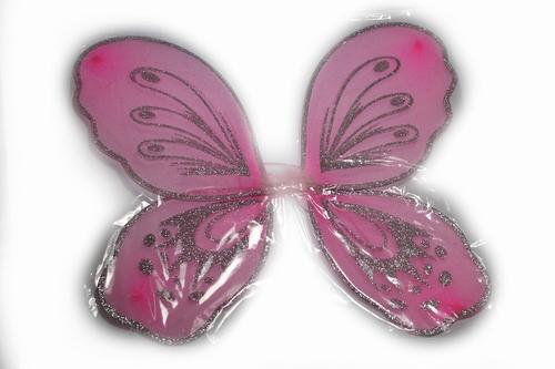 Prinsessen vleugels roze