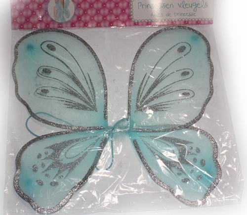 Prinsessen vleugels blauw
