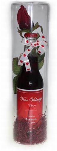 Valentijn wijntje met naam