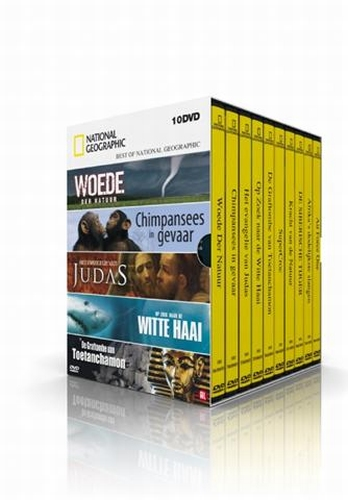 National Geographic 10 DVD box