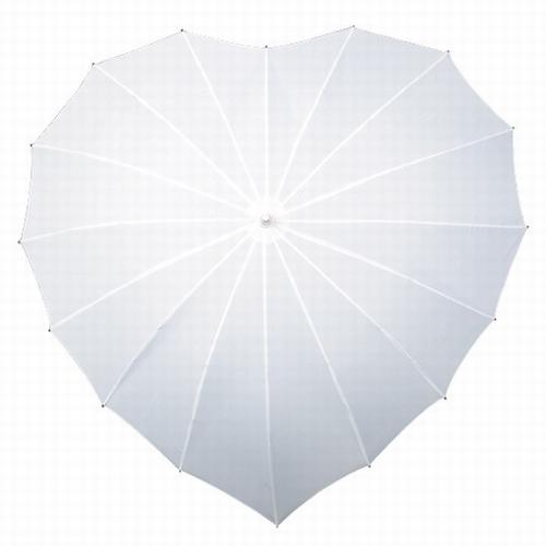 Paraplu Hartvorm Wit