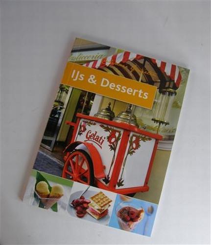 IJs en dessert boekje