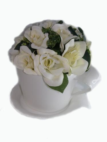 Jumbo kop en schotel (rozen)