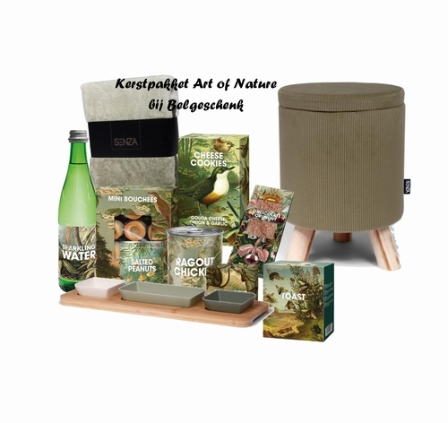 Kerstpakket Art of Nature