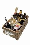 Biergeschenk kistje met naam