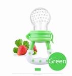 Baby speen voor fruit groen