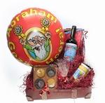 Abraham geschenk met grote ballon