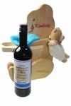 Houten beer geboortegeschenk met naam
