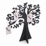Wensboom zwart vilt